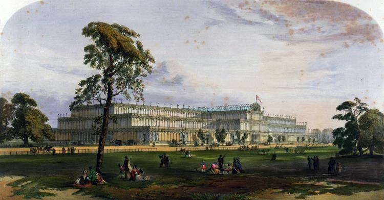 Хрустальный дворец, Англия, 1851 г.