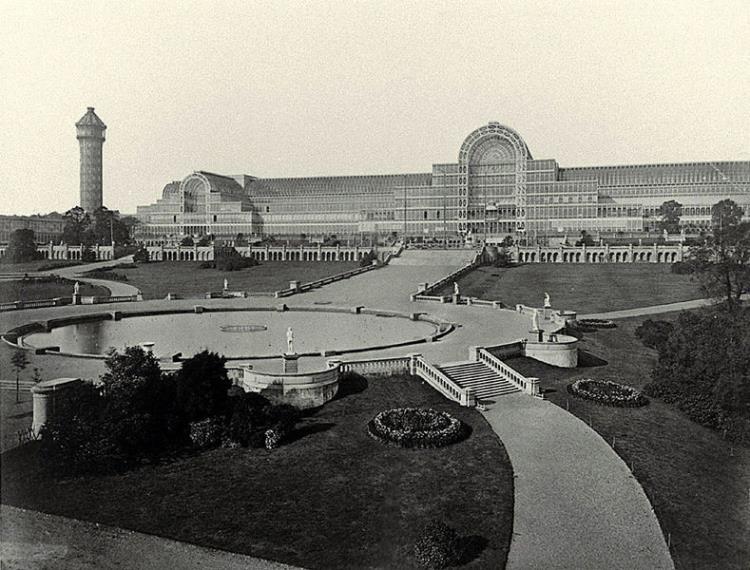 Хрустальный дворец а Сиднем Хилл