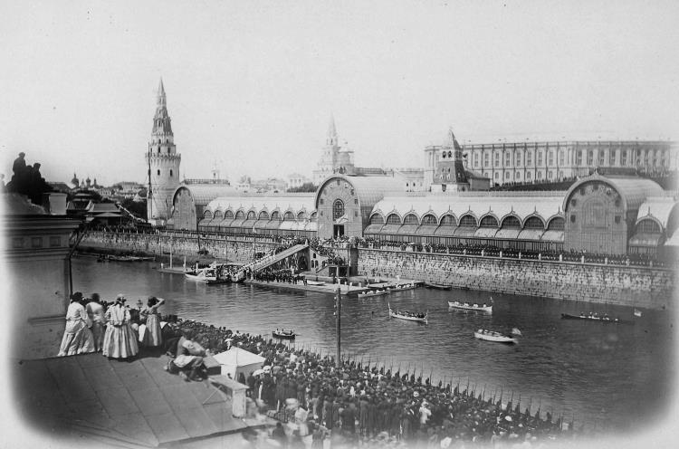 Павильон из металлического каркаса, Москва, 1872 год
