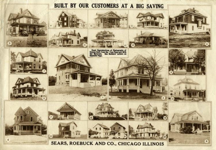 Дома Sears Roebuck, США