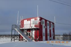 Блочно-модульное здание КДП аэропорта, Якутия