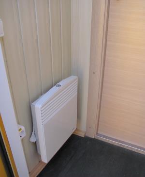 Отопительная панель в вагон-доме
