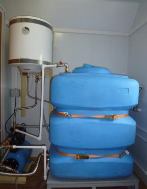 Автономное водоснабжение вагон-дома