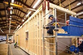 Технология производства вагон-домов в США - каркас