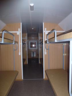 Вагон-дом - общежитие на 12 человек