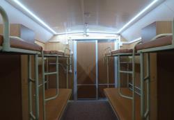 Аварийное освещение в жилом вагон-доме