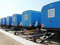 Вахтовый поселок на базе вагон-домов