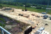 Строительство фундаментов для поселка на базе быстровозводимых зданий