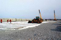 "Подготовка площадки для вахтового поселка на базе вагон-домов ""Ермак"""