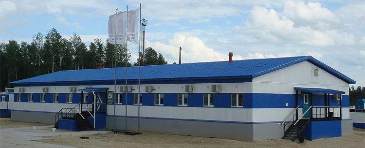 Быстровозводимое здание в Тюменской области