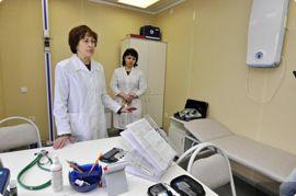Модульный ФАП готов к приему пациентов