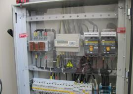 Электрощиток модульного ФАПа