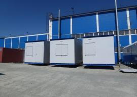 Готовые блок-модули на заводе