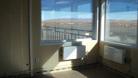 Вид из окна диспетчерской КДП