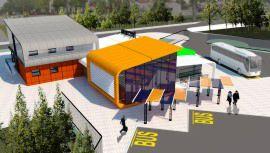 Строительство автостанции