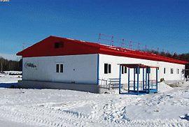 Модульное здание операторной