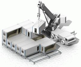 Монтаж блок-модулей