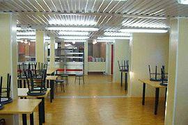 Обеденный зал модульной столовой