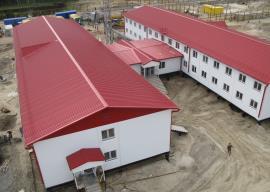 Здание блочно-модульного общежития