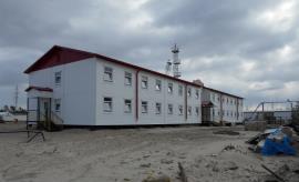 Блочно-модульное общежитие на месторождении