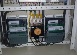Инженерные системы здания - приборы учета электроэнергии