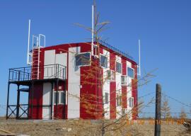 Двухэтажное модульное здание ОРЛ-Т, Оленек