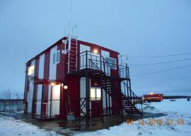 Двухэтажное модульное здание ОРЛ-Т, Белая Гора