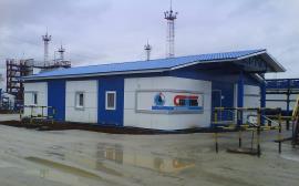 Готовое здание операторной нефтяной компании