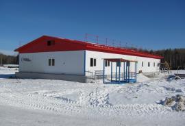 Здание модульной операторной