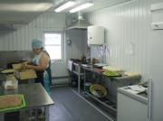 Модульная пекарня вид изнутри