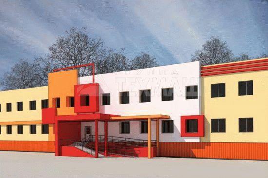 Строительство школы на 200 мест