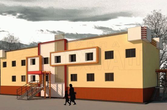 Здание школы на 30 мест