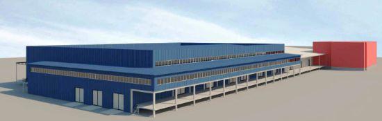 Эскизный проект быстровозводимого складского здания