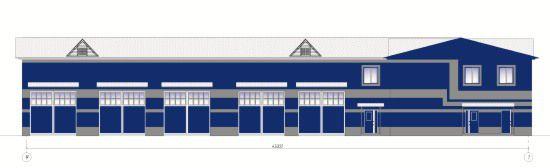 Здание мастерских и гаража