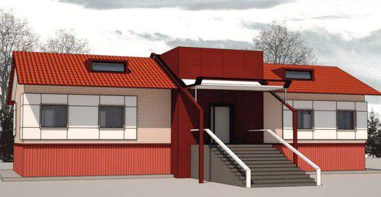 Строительство 2-квартирного жилого дома