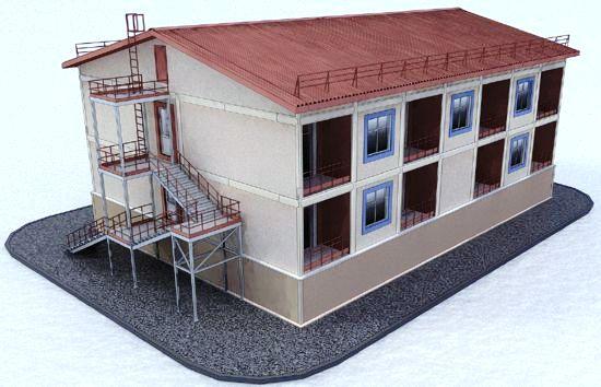 Строительство 9-квартирного жилого дома