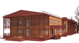 Строительство дома отдыха