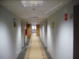Коридорная система в модульном общежитии