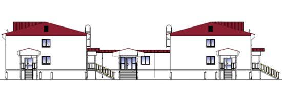 Проект общежития на 140 мест со столовой