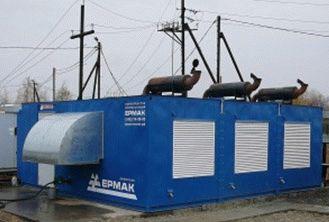 Блочно-модульная дизельная электростанция в Тюменской области
