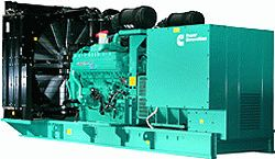 Дизельный генератор в открытом исполнении