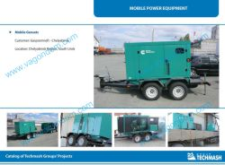 Mobile Gensets on Chassis