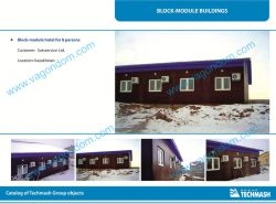 Modular Hotel For 8 Persons
