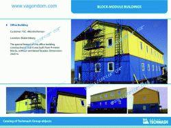 """JSC """"Mostinzhstroy"""" Modular Office Building"""