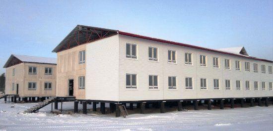 Общежитие со столовой компании РН-Юганскнефтегаз