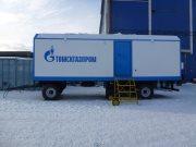 Вагончик на шасси для компании Томскгазпром