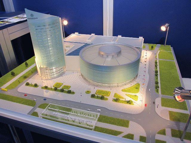 На Иннопром 2012 представлены новые строительные проекты
