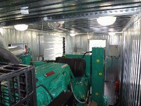 Cummins C550 во всепогодном контейнере типа Север