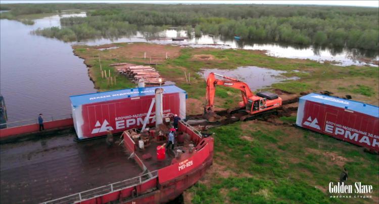 О строительстве ФАПА Ермак в НАО снят фильм