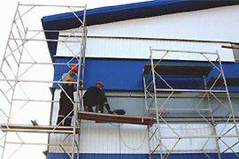 Внешняя отделка блочно-модульного здания